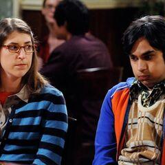 Raj and Amy.