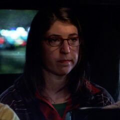 Amy on first date with Sheldon.