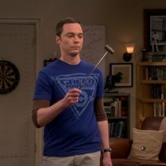Sheldon's travel gavel.