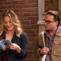 Penny has Beverly's new book written about Leonard.