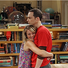 Penny and Sheldon both miss Leonard.