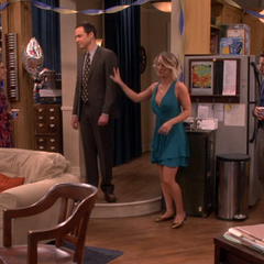 Sheldon apologizing for running away.