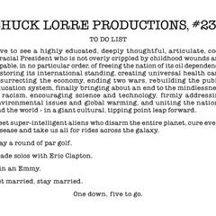 Chuck Lorre Productions, #239.