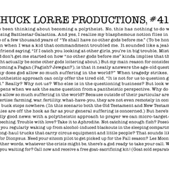 Chuck Lorre Productions, #416.