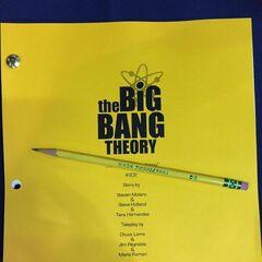 Episode script front page.