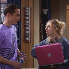 Penny meets the guy Sheldon found her online.