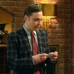 Sheldon reads out his speech for Howard.