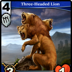 Three-Headed Lion