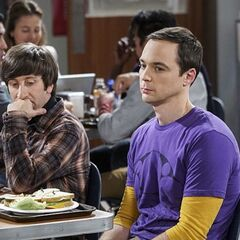 Howard doesn't want to hear about Sheldon's bowel problems.