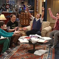 Celebrating their genius.