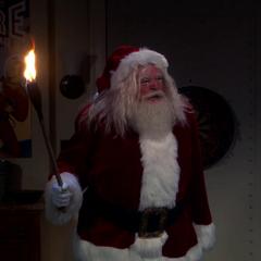 Santa gets his revenge.