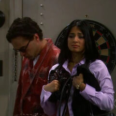 Priya caught by Sheldon.