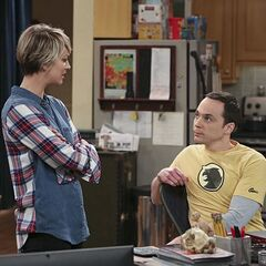 Penny seeking advice from Sheldon.
