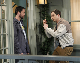 S6EP07 - Sheldon and Will Wheaton