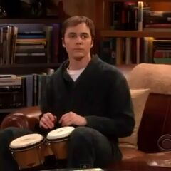 Sheldon being yelled at by Leonard.