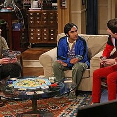 Raj, Howard and Sheldon.
