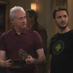 Brent Spiner and Wil Wheaton.