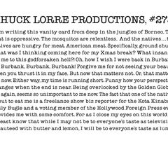 Chuck Lorre Productions, #273.