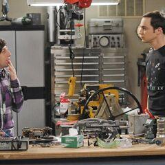 Sheldon wants to meet Hawking.