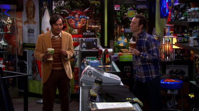 File:S6EP01 - Raj and Stuart at comic store.jpg