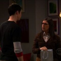 Amy thinks Sheldon is the most shallow, self-centered person she has ever met.