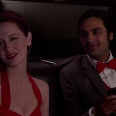 Emily in Limo.