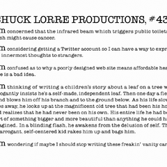 Chuck Lorre Productions, #431.