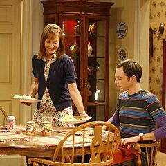 Mary prepares Sheldon's favourite toast.