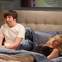 Howard returns and Bernadette is too sick and tired to love him.