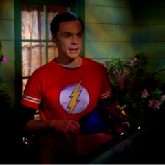 Sheldon wants to leave NOW!