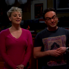 Penny sings <i>Soft Kitty</i> to Sheldon.