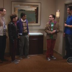 The guys trying to get Kurt to return the money he owes Penny.