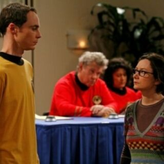 On Sheldon's panel.