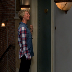 Penny joke was to do Sheldon's knock.