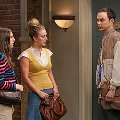 Sheldon is mad at Penny for lying to him.