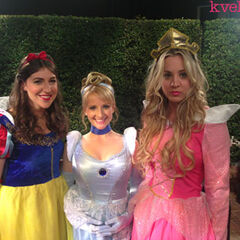 Big Bang princesses.