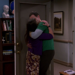A passionate Shamy kiss.