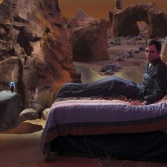 Sheldon's dream, where his guilt is haunting him.