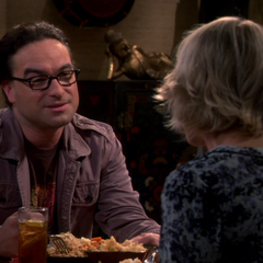 Leonard is still worried about Sheldon.