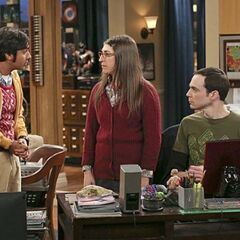 Raj trying to give unwanted relationship advice to Shamy.