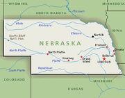 Nebraska Map