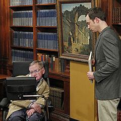 Sheldon gets to meet Stephen Hawking.