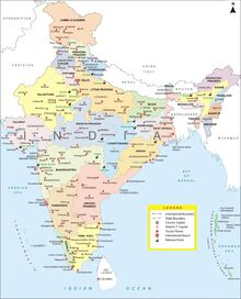 India-city-map