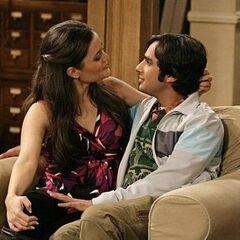 Raj and Abby.