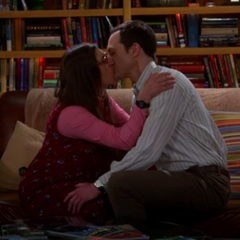 Shamy make out session.