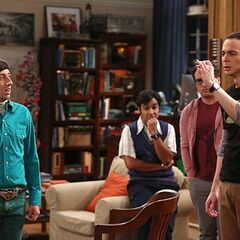 Sheldon coughed up the spitball.