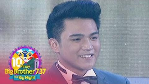 Pinoy Big Brother 737 Teen Big Winner - Jimboy Martin