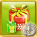 Santa's Darling Achievement Icon Silver