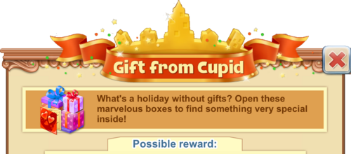 Gift From Cupid Window Heading
