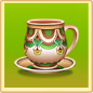 Painted Teacup